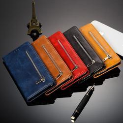 Ikole tpu de couro luxo caso da aleta para o iphone 11pro xs max xr x 7 8 6 plus se2020 destacável ímã carteira slot para cartão suporte capa
