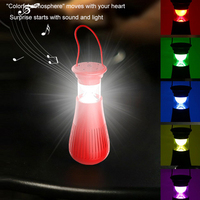 Creative Portable Outdoor Light with Wireless Audio Waterproof Charging Lamp Tent Lamp Night Light Emergency