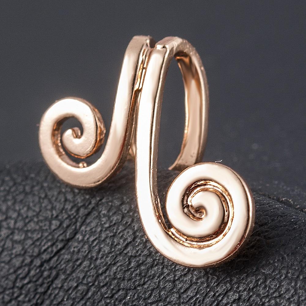 Vintage Clip on Earrings Tightening Spell  Ear Cuff Non Pierced Earrings Nose Ring New Fashion Women Earrings Ear Cuff Brincos