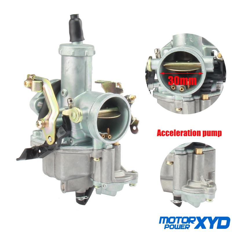 PZ30 30mm Carburetor Accelerating Pump Racing for 200Cc 250Cc for Keihin ABM IRBIS TTR 250 with Throttle Cable image