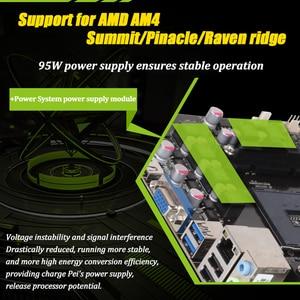 Image 3 - MAXSUN motherboard am4 A320M VH Challenger + AMD ryzen 5 2600 prozessor ram ddr4 speicher SATAIII ssd PCI E grafikkarte mainboard