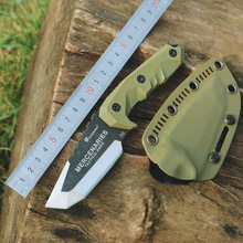 HX OUTDOORS D2 Steel tactical hunting knife outdoors camping survive knives multi tool & Stone wash blade Free fast shipp