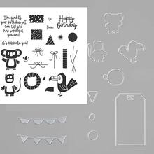 Animal Metal Cutting Dies And Stamp Stencils For DIY Scrapbooking Embossing Card Making Crafts Stencil 2020