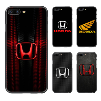 Honda car logo luxury Phone Case Cover Hull For iphone 5 5s se 2 6 6s 7 8 plus X XS XR 11 PRO MAX black shell fashion back 3D image