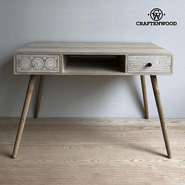 Desk Paolownia Wood (110 X 55 X 75 Cm)