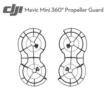 Oryginalny Dji Mavic Mini Drone śmigła straż dla DJI Mavic Mini Drone Protector pokrywa ochronna wiosło pierścień rekwizyty akcesoria tanie i dobre opinie SUNFLYING Śmigła guard 8*8*8