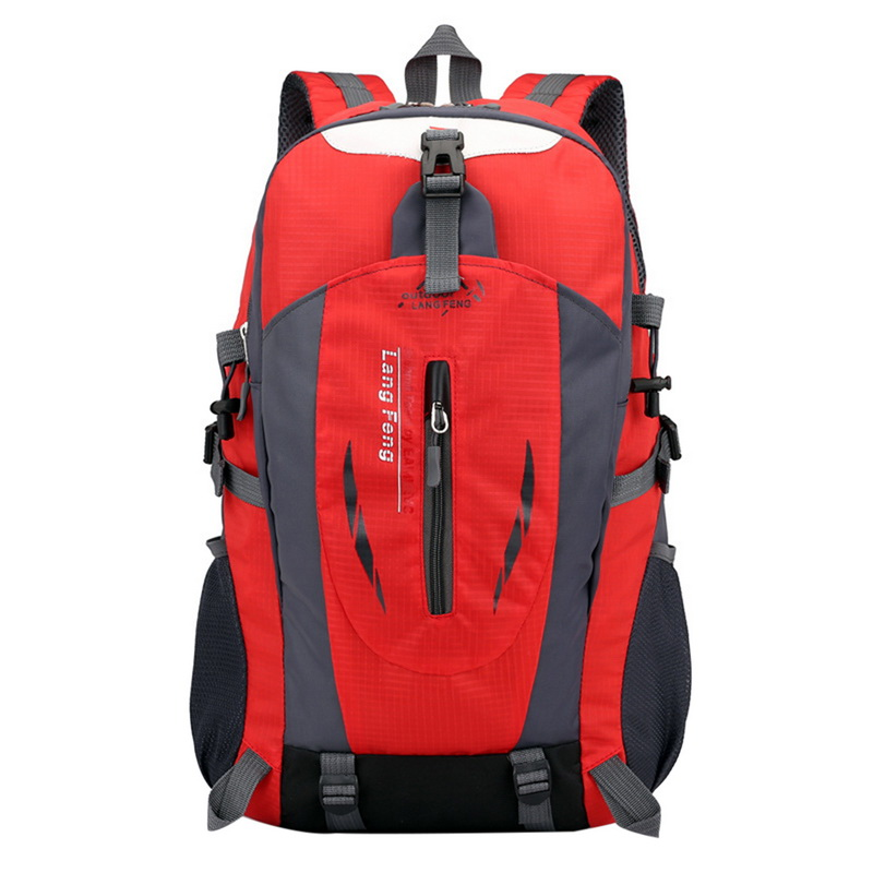 Adisputent 40L Outdoor Bags Sports Travel Mountaineering Backpack Camping Hiking Trekking Rucksack Travel Waterproof Bike Bag