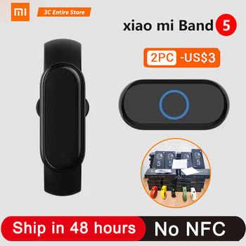 2020 neue Xiaomi Mi Band 5 Smart Uhr Herz Rate Blut Sauerstoff Yoga Sport Fitness Armband Mi Band 4 5 uhr Lange Standby MI BAND