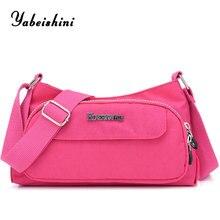купить Women's Messenger handbags women bags designer Nylon cloth shoulder bag Women bags for women 2019 Crossbody bag bolsas feminina по цене 670.85 рублей