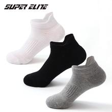 Super Elite Combed Cotton Sports Socks New Running Socks Short Basketball Solid Boat Socks Gym Fitness Socks For Men Women
