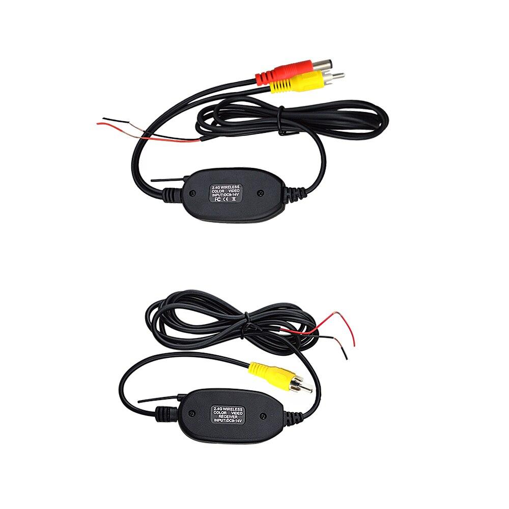 170° Car Reverse Camera HD Night Vision Rear View Camera Backup Parking Camcorder Waterproof Reversing Monitor 2.4g wireless Kit (7)