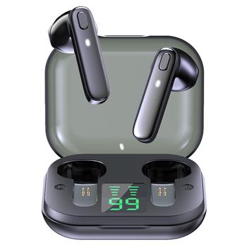 R20 TWS słuchawki bezprzewodowe słuchawki Bluetooth wodoodporny głęboki bas słuchawki douszne prawdziwe bezprzewodowe słuchawki Stereo z mikrofonem słuchawki sportowe tanie i dobre opinie Tellunow Wyważone CN (pochodzenie) wireless 125dB Słuchawki do monitora Do gier wideo do telefonu komórkowego Słuchawki HiFi