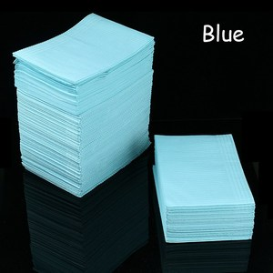 Image 2 - 125Pcs Disposable Tattoo Clean Pad Waterproof Medical Paper Tablecloths Mat Double Layer Sheets Tattoo Accessories 45*33cm