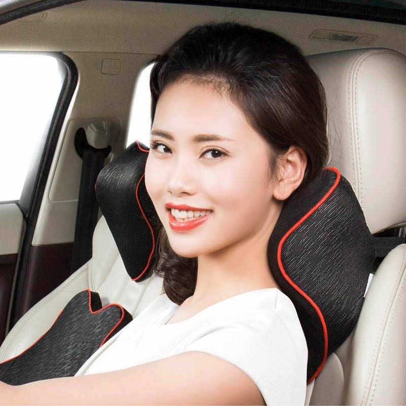 Автомобильный подголовник для шеи пены памяти плечо поддержка безопасности Подушка автомобильный коврик для путешествий