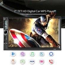 2 Din Car Radio Bluetooth MP5 HD 7 2din Car Multimedia Player Touch Screen double din Autoradio Rear View Camera цена