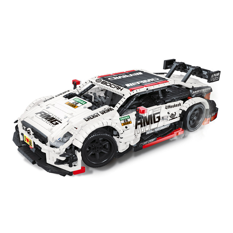 23012 Super Racing Car AMG C63 Technic MOC-6687 6688 Building Block Bricks Educational Christmas Toys For Children