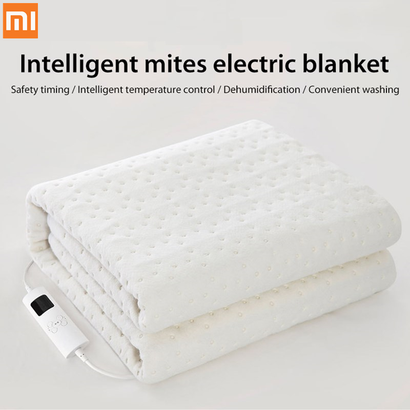 Xiaomi youpin smart safety Electric blanket removing mites timing Intelligent temperature control Convenient washing for winter image