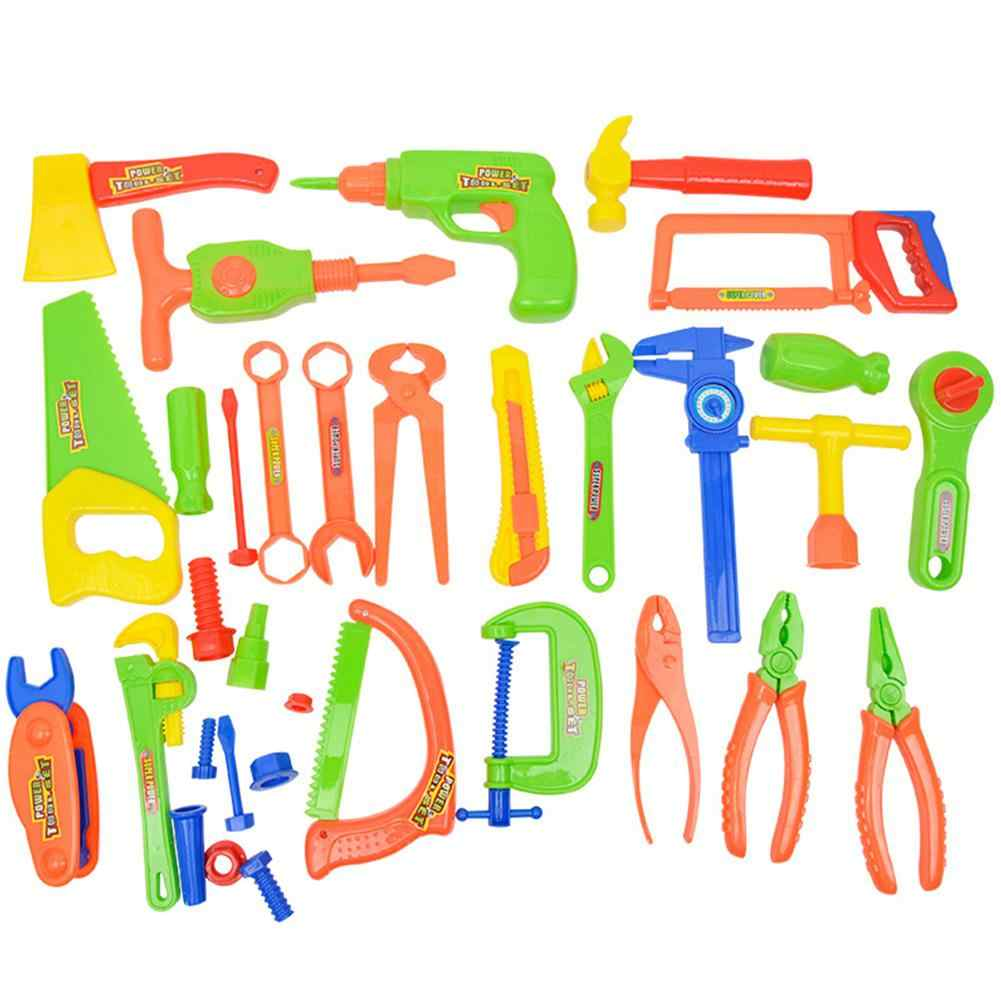33pcs/set Children Simulation Repair Kit Child Toy Set Electric Repair Tool Toy