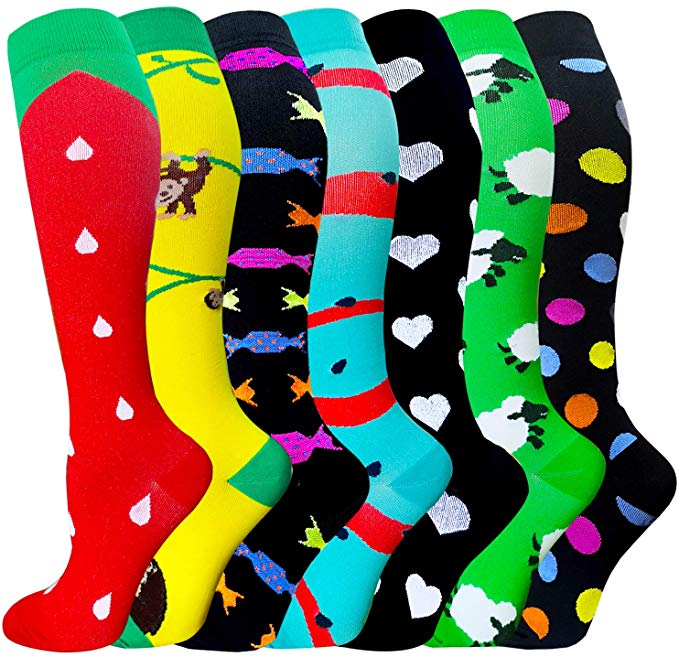 Men Funny Halajuku Humored Word Printed Socks Creative Heels Sokken Hip Hop Street Skateboard Basketball Socks Unisex Crew Socks
