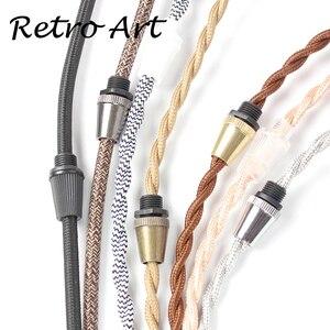 Image 5 - Abrazadera de Cable de lámpara, Cable de metal, alivio de tensión, agarre de Cable roscado