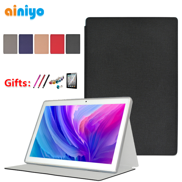 """Case For Teclast M30 10.1""""Tablet Pc Stand Case 10.1 Inch stand Pu Leather Cover for 2019 Teclast M30 + gifts"""