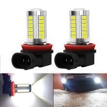 Ampoules antibrouillard LED pour Infiniti FX35 Q50 Q30 ESQ QX50 QX60 QX70 EX JX35 G35 G37, H8 H11, 2 pièces
