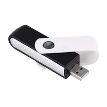 цена на USB Ionizer Mini Air Purifier Oxygen Bar Rotatable Mini Auto Car Accessory Car Interior Decoration Home Air Freshener