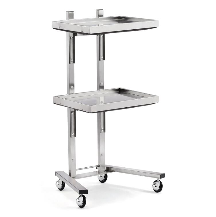 Купить с кэшбэком New stainless steel beauty salon cart haircut haircut folding tool cart hair salon special hot dyeing car