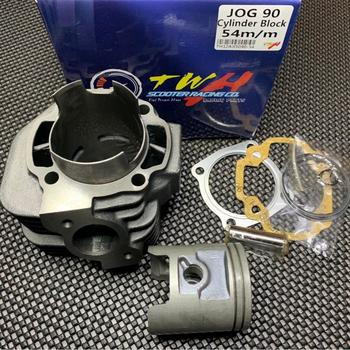 цена на Cylinder kit 54mm for JOG90 JOG50 big bore piston set gaskets rings racing tuning engines and engine parts jog 50 90
