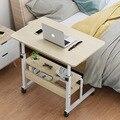 Mesa de cabeceira elevador preguiçoso simples doméstico contratado e contemporâneo notebook móvel computador mesa cama mesa de elevação
