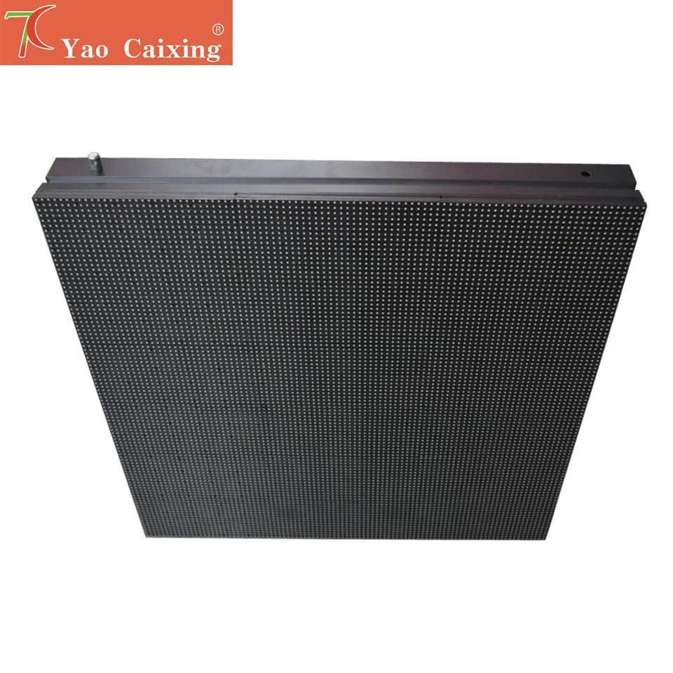 P10 SMD Simple Cabinet Full Color Led Display Screen For Outdoor Advertisement  Video Wall ,5500cd
