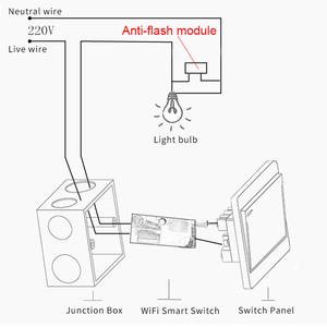 Image 4 - eWeLink Single Fire WIFI Module DIY wifi switch Timer Light Switch Remote Control Module Work With Alexa and google home