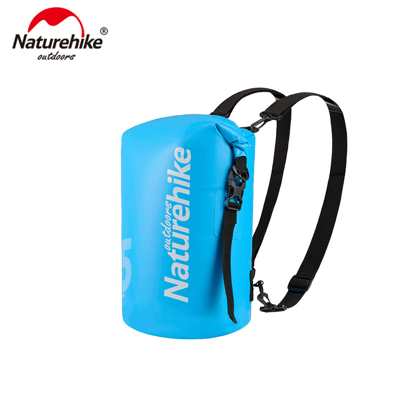 Naturehike 10L 15L 25L Outdoor Waterproof  Wet And Dry Separation Bag 4 Colors Green Yellow Black Blue Camping Trekking Wet Bag