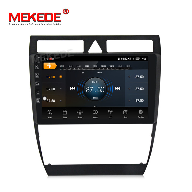 2020 New arrival!Mekede FOR Audi/A6/S6/RS6 Car Multimedia Player avtagnitola Android 10.0 Built-in carplay DSP IPS 4G network