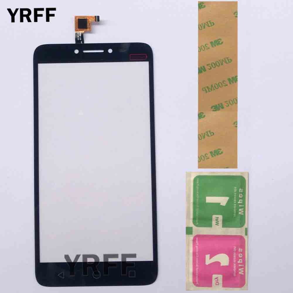 Touch Screen For Alcatel Pixi 4 Plus Power OT 5023 OT5023 5023E 5023F Sensor Front Glass Touch Screen Digitizer 3M Glue Wipes