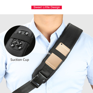 Image 3 - Kingsons 13 13.3 אינץ מחשב נייד תיק עמיד למים מחברת כתף אחת תרמיל לגברים נשים שליח חזה תיק w/ USB