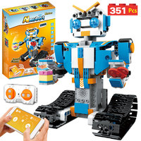 Creative Technic Robot BOOST RC Intelligent Robot Building Blocks Legoing Technic APP Remote Control Robot Bricks Toys For Boys