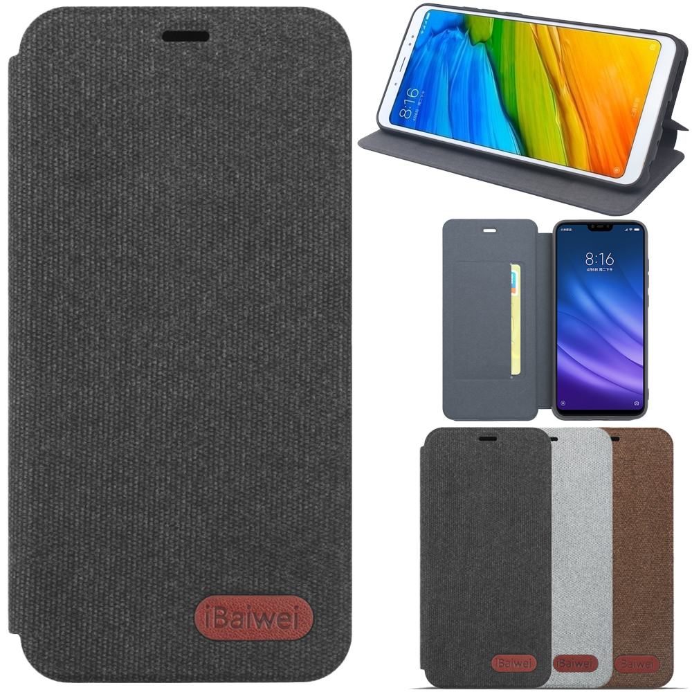 Flip-Cover brieftasche Fall Globale Version Original Hand Made für Xiaomi Redmi 4X3 GB <font><b>32GB</b></font> <font><b>Smartphone</b></font> Snapdragon 435 Octa Core Haut image
