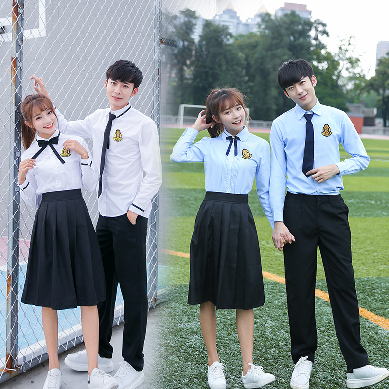 [Ten For] Autumn New Style School Uniform Primary School STUDENT'S England College Style Business Attire Chorus Performance Wear