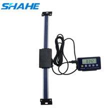 Цифровые линейные весы shahe 0 150/200/300 мм с дистанционным управлением, таблица показаний, весы для Бриджпорта, фреза, фотолинейка с основанием для ЖК дисплея