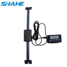 shahe 0 150/200/300mm Remote Digital linear Scale Table Readout Scale for Bridgeport Mill Lathe Linear Ruler with LCD Base