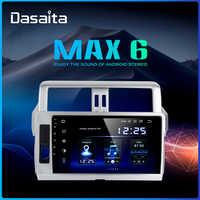 Dasaita 1 Din Android 9.0 Car Radio GPS Navigation for Toyota Prado 2014 2015 10.2