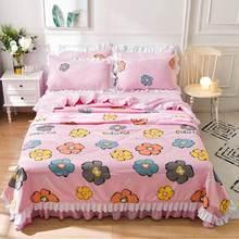 Красочное покрывало мягкое летнее одеяло моющееся для кровати