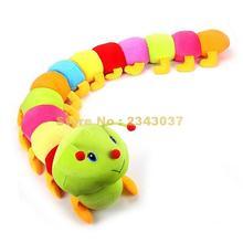 Цветная Подушка-червяк гусеницы wiggler для насекомых, подушка, плюшевая кукла-жук, Детская плюшевая игрушка 50 ~ 120 см