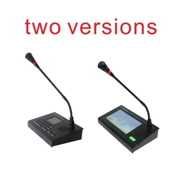 Professional SIP Network Paging Microphone with Intercom for conference, school or public address