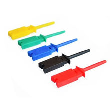SMD Test Hook Logic Analyzer Clip Test Clip Wiring Hook Yellow / Green / Blue / Black / Red / White(China)