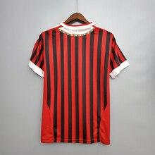 Red Retro shirts home Gullit SOCCER JERSEY Maldini Van Basten football RONALDO KAKA Inzaghi  02 03 SHEVCHENKO