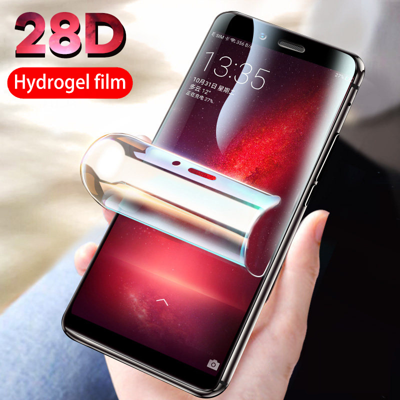 28d Protective Hydrogel Film For Samsung A50 A70 Screen Protector Film For Samsung A40 A30 A20 A60 For Samsung A80 A90 Not Glass