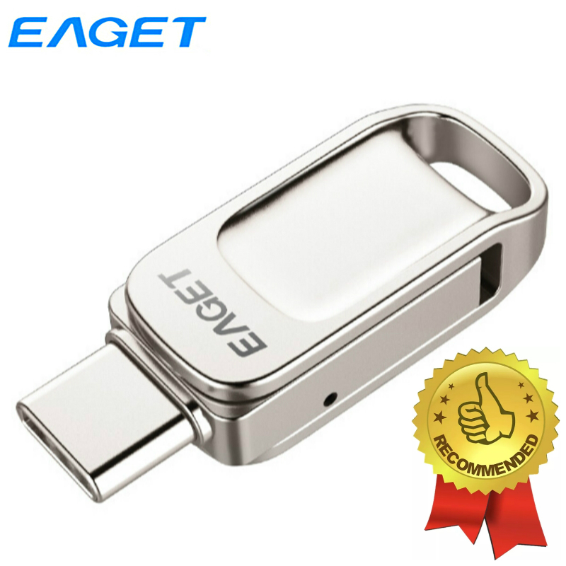 Eaget 2 In 1 Type C <font><b>USB</b></font> <font><b>Flash</b></font> 32GB 64GB 128GB <font><b>USB</b></font> <font><b>3.1</b></font> <font><b>Flash</b></font> Drive Memory Stick Pendrive <font><b>USB</b></font> <font><b>Flash</b></font> Drive For Type C Mobile Phones image