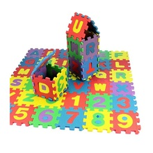 36 English alphabet foam floor mats home bedroom children crawling mat stitching puzzle